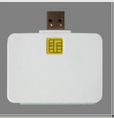 USB mobile chip card reader writer/ emv credit chip card reader/skimmer