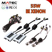 Wholesale price MOQ one set all car universal 35/55/75w HID headlight xenon conversion kit H1 H7 H11 HB3 HB4 hid kit
