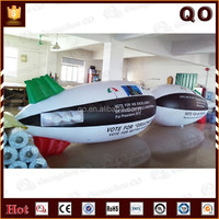 2015 newest design good quality inflatable helium blimp balloon