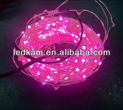 Pink Large vines LED string lights used for christmas party wedding etc