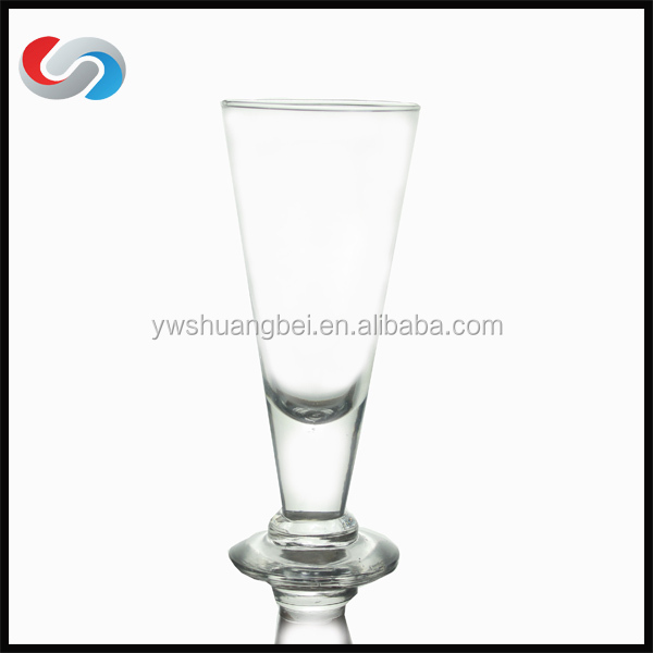Wholesale Juice Glass, Tall Juice Cup Glass short stem champagne flutesChampagne Flute V Shape