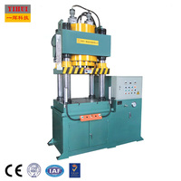 40 Ton Hydraulic Servo Machine Dongguan YIHUI 4 Column Single Acting Metal Shaping Stamping Press