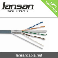 SSTP CAT6 27AWG 7/0.14MM LSZH JACKET LOW VOLTAGE CABLE