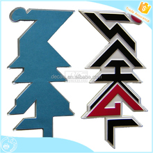 0.12mm 9129 water resistant high quality 3d stickers chrome car