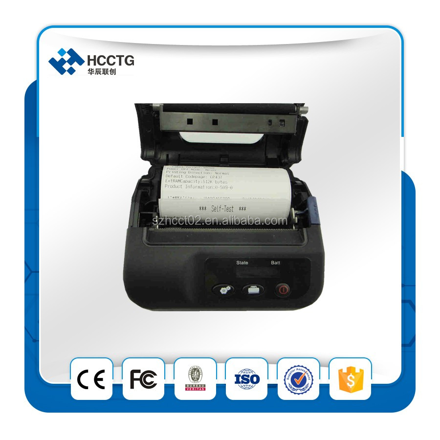 portable handheld android bluetooth 80mm thermal printer HCC-L31