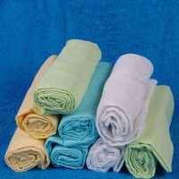 Hot Sale Cotton Baby Swaddle Wraps Baby Gauze Muslin Diaper Cloth Factory