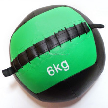 colorful crossfit PU leather medicine ball