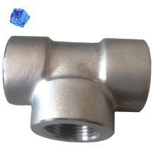 High Pressure Stainless Steel 316 Butt Weld Pipe Fitting Tee