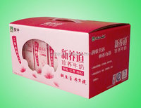 Corrugated carton box, wax corrugated carton box