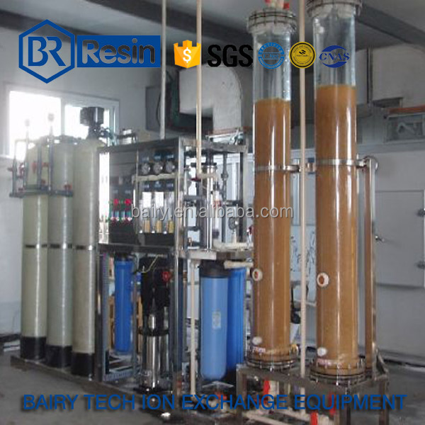 500L/H Ion exchanger system industrial demineralized water purified equipment