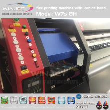 2018 hot sale Konica Printhead Outdoor Banner Minolta Head Flex Printing Machine digital Solvent Printer