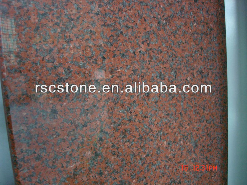 African red granite of high quality