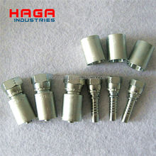 Carbon steel Hydraulic hose fitting and ferrule