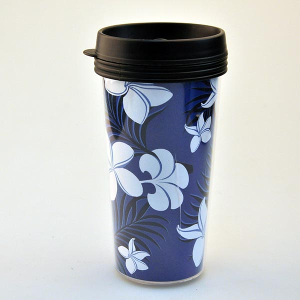 Decorative Design Elegant And Beautiful Double Wall Plastic Insulated Cup, 450ML, Unbreakable And Economic