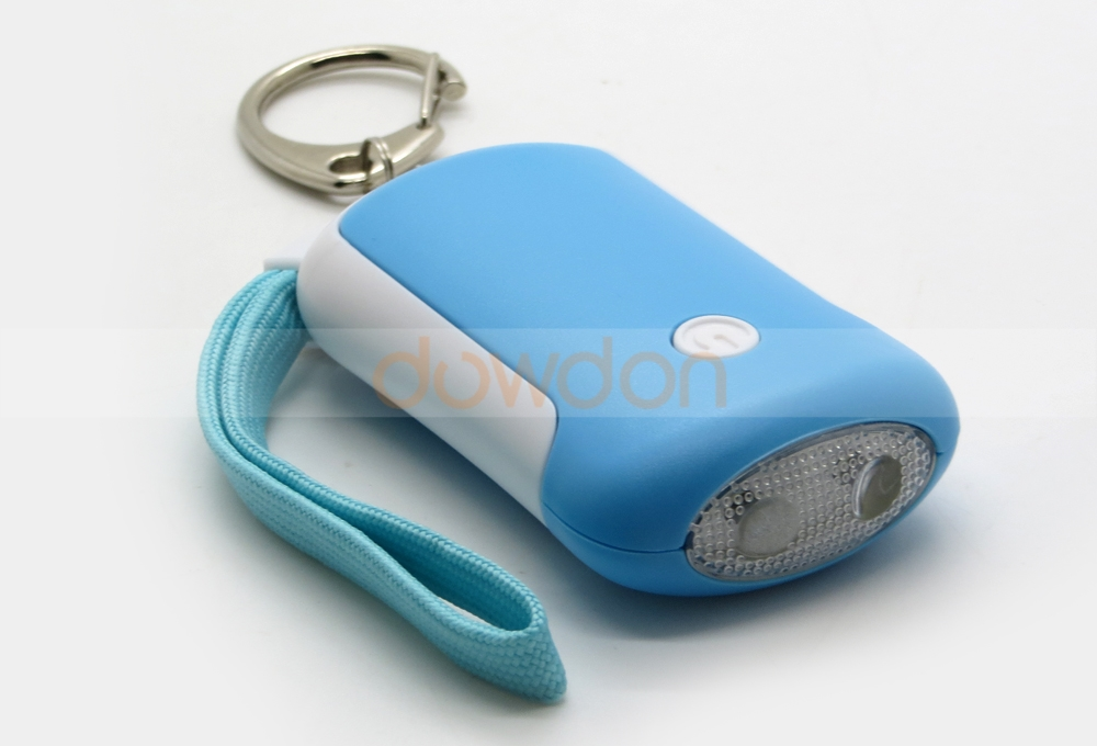 Promotion Gift Personal Alarm Lady Self Protecting Alarm With Key Ring Flashing LED Light Support OEM Logo Package