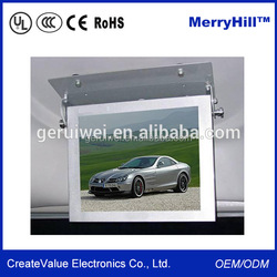 Roof Mount/ Flip Down LCD Monitor 15/ 17/ 19/ 22 inch Portable Bus DVD Player 24V With TV Tuner