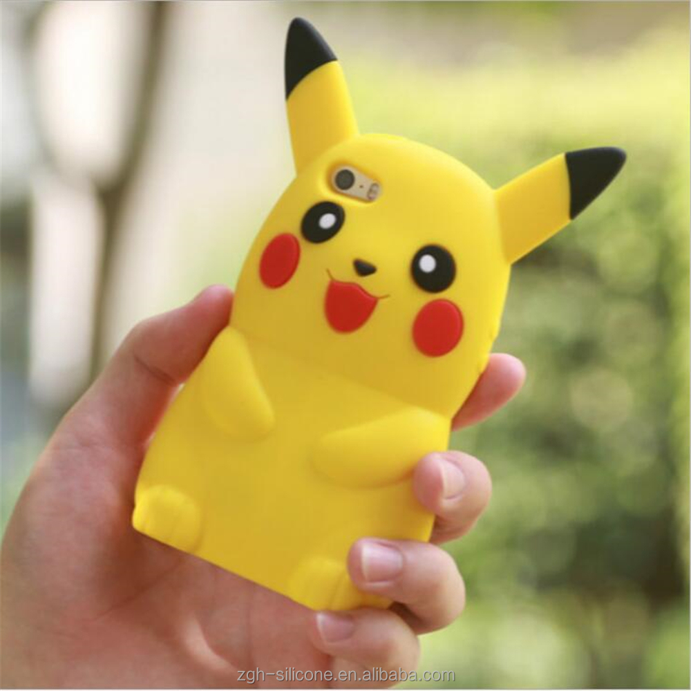 Pikachu phone shell pokemon go phone cases for iphone5 5s 6 6s 6plus