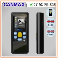 1d windows mobile pda laser display barcode scanner