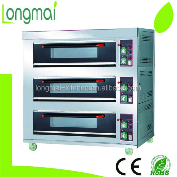 Luxury LM120H/12 / 3 deck 12 trays electric bakery oven