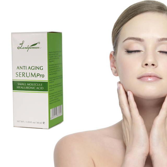 Makeup face gold serum hyaluronic acid ampoule for skin