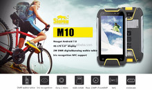Outdoor mobile phone snopow m10 4g bluetooth BT 4.0 waterproof mobile phone with 3.5 Audio jack