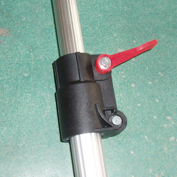 Extendable C Clamp : Plastic pipe clamp for telescopic pole buy