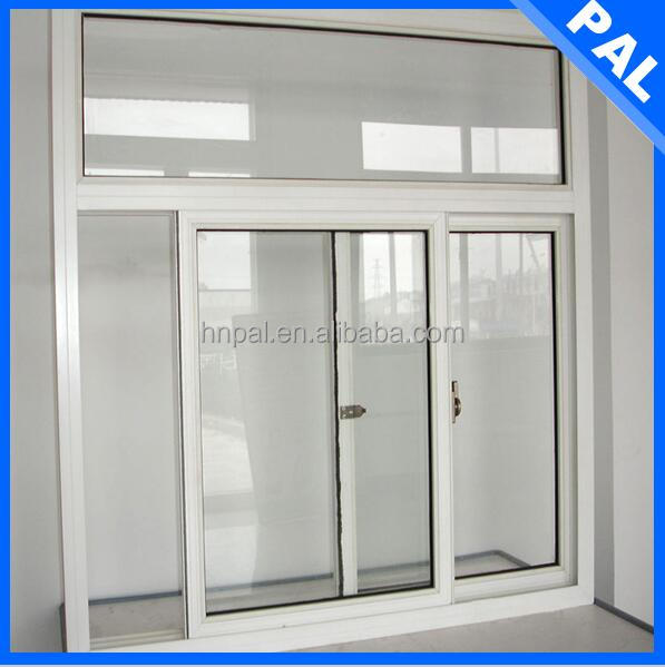 Home used window metal protection With triple glazing window