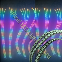 individually controllable ws2812b led stripe 144leds 1m ws2811IC chip