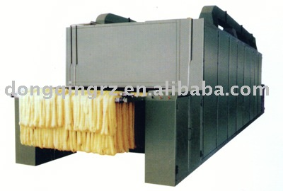 DC continuous hank yarn drying machine