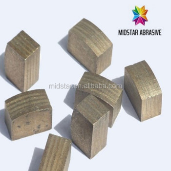 Midstar diamond tools, segments for granite and marble
