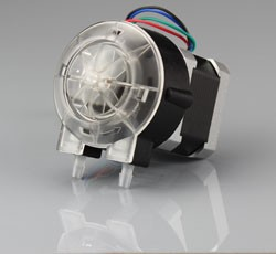 JIHPUMP OEM peristaltic pump quick-install panel colorful type of flow rate less than 140ml/min