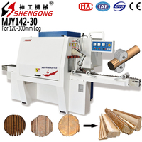 Shengong Wood Log Cutter And Splitter