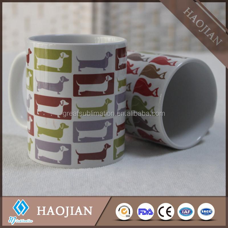 Custom Cheap Coffee Mugs Sublimation Printing 11oz White