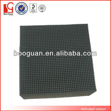 Activated carbon honeycomb filter plastic odor remove