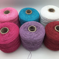 Polyester cording yarn embroidery