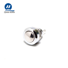 8mm Stainless Mini Momentary Waterproof Push Button Switch