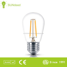 s14 string lights decorative led bulb e27 0.8W chrismas led bulb s14 e26