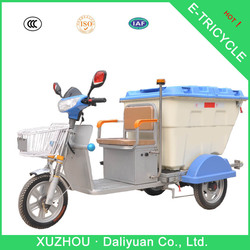 Daliyuan electric garbage adult tricycle reverse tricycle