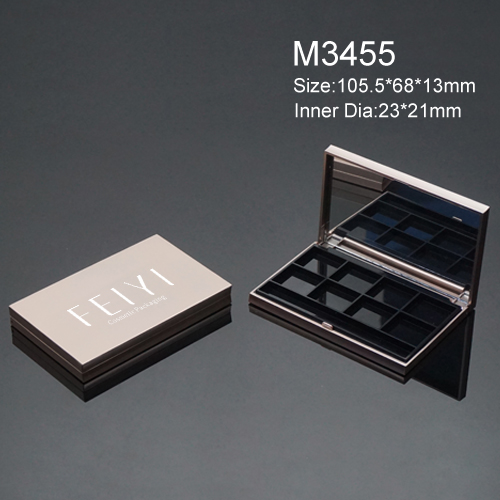 Makeup packaging on sale high quality square empty eyeshadow compact