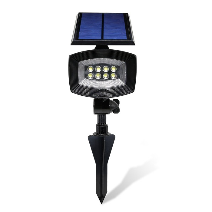 solar panel led spot light,night garden grassland and lawns lighting