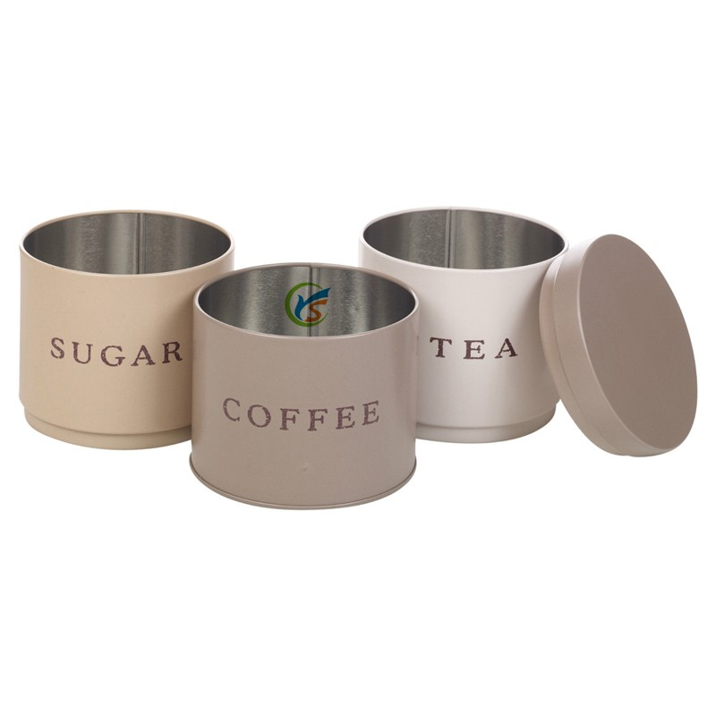 3 stackable coffee tea sugar set metal kitchen canisters canister sets for kitchen buy organization kitchen