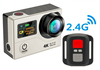 Dual Screen 4K Ultra hd 1080P Mini Action Camera Wireless Sport Camera eken h9r with remote