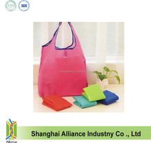 2016 Fashion Portable Eco Friendly Reusable Cute Folding Shopping Bag,Polyester Folding Tote Bag