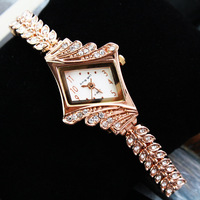 Rose Gold Diamond Latest Fashion Ladies Fashion Business Watches For Women