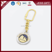 Customized cheap metal keychain/key chain/ keyring