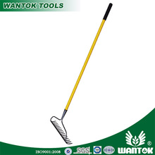 R101GL Welded Bow Rake With Long Fiberglass Handle