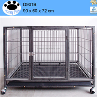 The large tube dog cage
