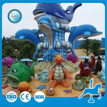 Latest park water shooting rides! amusement outdoor kids play machine