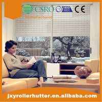 40mm roll up shutter window panel with tubular motor