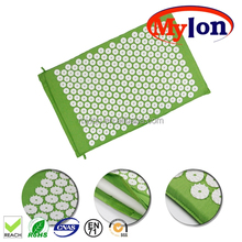 Acupressure Mat and Pillow Set for Back & Neck Pain Relief and Muscle Relaxation